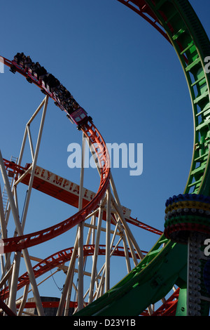 roller coaster funfair ride looping oktoberfest munich. Black Bedroom Furniture Sets. Home Design Ideas