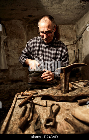 Old Fashioned Leather Shoe Makers