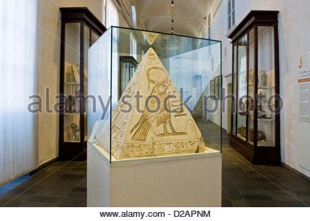 Italy,Piedmont,Turin,Egyptian Museum - Stock Photo