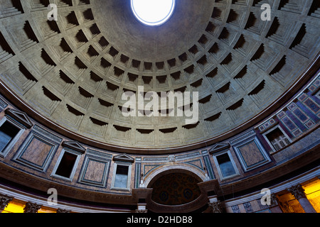 Pantheon of Agripa (Piazza della Rotonda,Rome) - Stock Photo