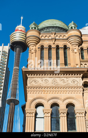 Sydney Tower, Sydney, New South Wales, Australia, Pacific - Stock Photo