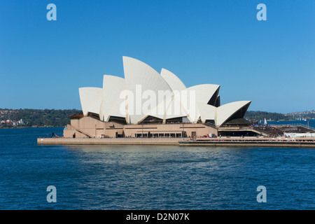 Opera House, UNESCO World Heritage Site, Sydney, New South Wales, Australia, Pacific - Stock Photo
