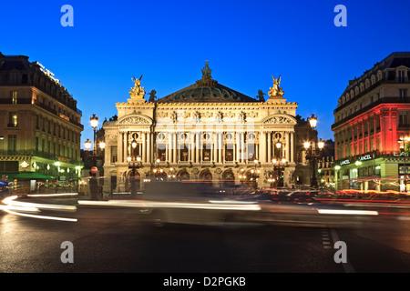 Opera House, Paris, France - Stock Photo
