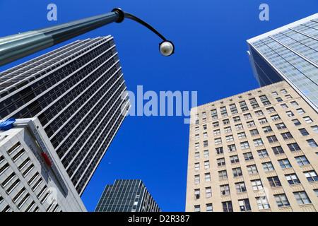 Skyscrapers in the Five Points District, Atlanta, Georgia, United States of America, North America - Stock Photo