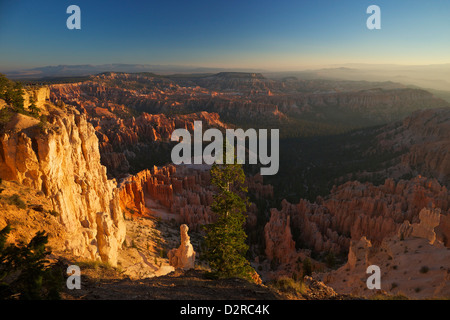 Sunrise from Bryce Point, Bryce Canyon National Park, Utah, United States of America, North America - Stock Photo