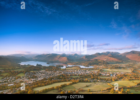 Derwentwater, Lake District National Park, Cumbria, England, United Kingdom, Europe - Stock Photo
