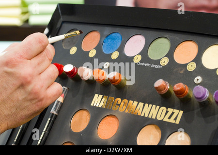 Berlin, Germany, cosmetic palette of makeup artists Star Marco Mannozzi - Stockfoto