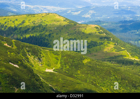 Babia Gora mountain, Poland - Stockfoto