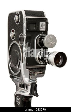 1955 1957 bolex paillard b8 cine / movie film camera