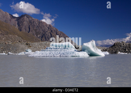 Mount Cook National Park South Island New Zealand - Stock Photo