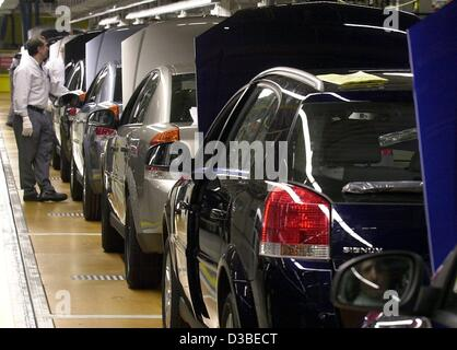 Cars On Assembly Line First Automobile Works Changchun