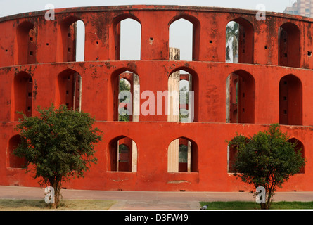 jantar mantar,delhi,india. this is an ancient astronomical observatory. - Stockfoto