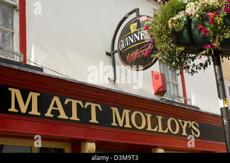 Matt Molloys Pub, in the Town of Westport, County Mayo, Ireland - Stock Photo