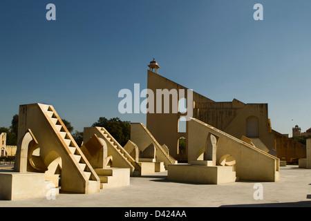 Jantar Mantar Observatory - Stock Photo