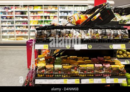 Coop Supermarket Sandwich Kent - Stock Photo