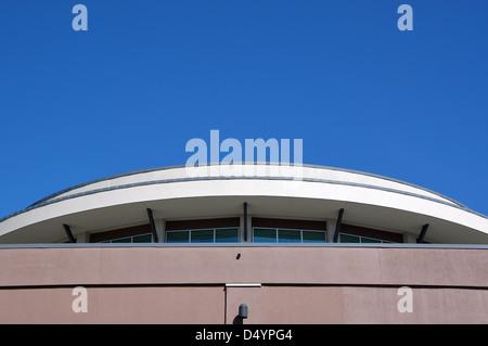 Macro building rooftop - Stock Photo