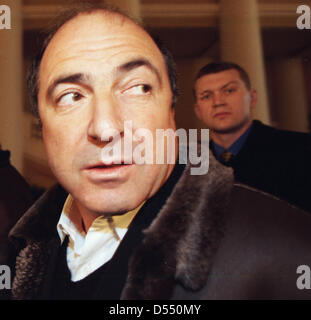 File pics: 23rd March 2013. Russian tycoon Boris Berezovsky dies in London March 25, 2003 - Moscow, Russia - March - Stock Photo