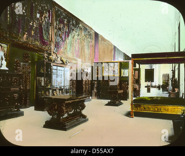 paris exposition unidentified interior view paris. Black Bedroom Furniture Sets. Home Design Ideas