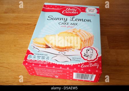 Betty Crocker Sunny Lemon Cake Recipe