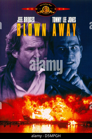JEFF BRIDGES & TOMMY LEE JONES BLOWN AWAY (1994) - Stock Photo