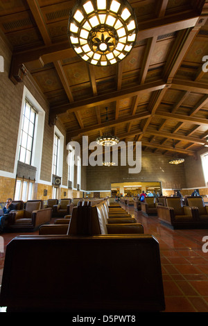 Interior of  Grand Union Station, LA. - Stock Photo