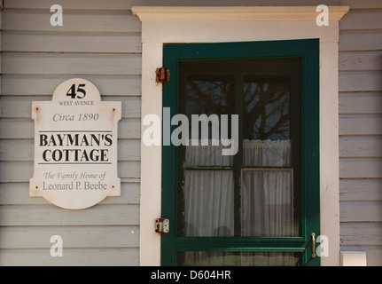 Long Island Maritime Museum in West Sayville New York - Stock Photo