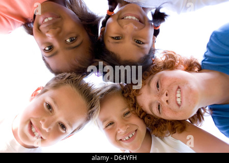 Childhood friends - Stock Photo