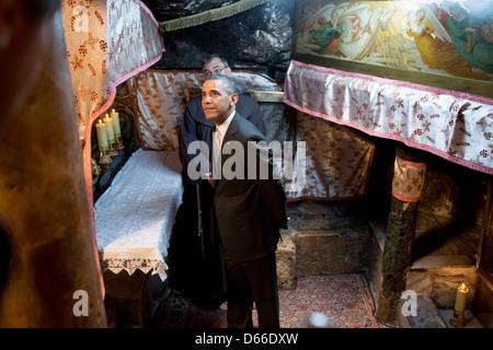 u.s. president barack obama tours the el reno federal