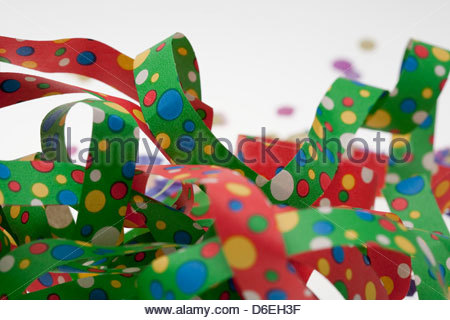 Party streamers - Stock Photo
