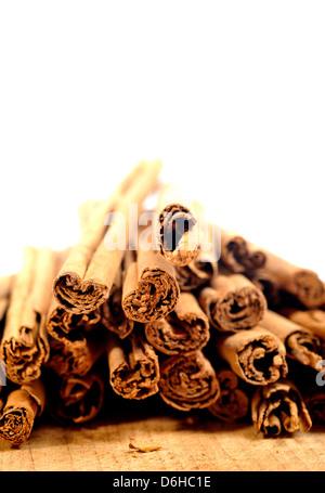 Cinnamon spice sticks - Stockfoto