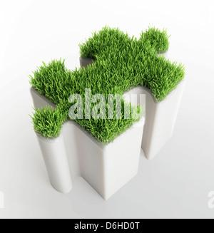 Environmental solution, conceptual image - Stockfoto