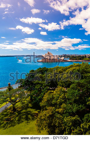 Sydney Opera House, Sydney, New South Wales, Australia - Stock Photo