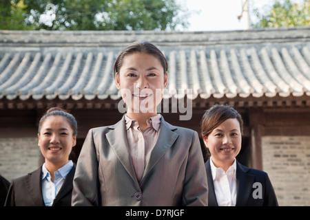 Portrait of Three Businesswomen - Stockfoto
