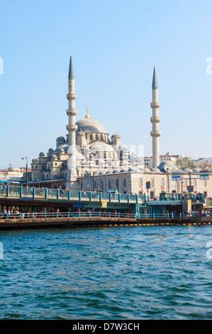 Yeni Cami (New Mosque), Istanbul Old city, Turkey - Stock Photo