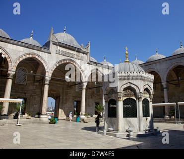 The Yeni Camii (New Mosque), Istanbul, Turkey - Stock Photo