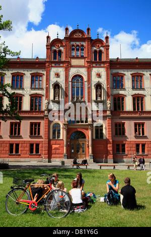 university square rostock mecklenburg vorpommern germany stock photo royalty free image. Black Bedroom Furniture Sets. Home Design Ideas