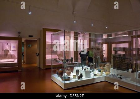 Italy Piedmont Turin Egyptian Museum - Stock Photo