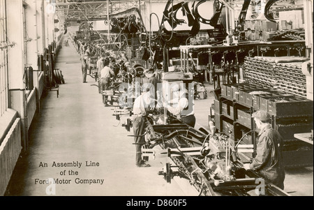 Ford motor cars production plant at dagenham essex for Ford motor company usa