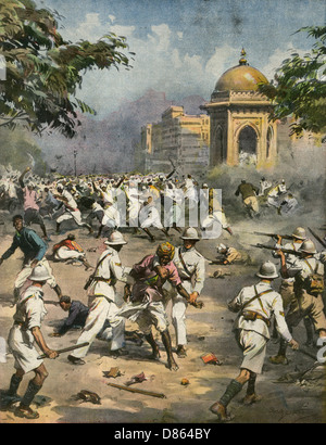 Nationalists In India During Second World War - Stock Photo
