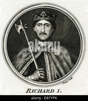 The life and reign of king richard the lionheart