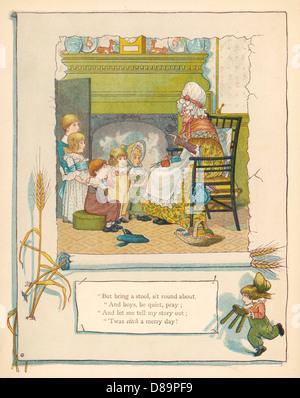 Telling Fairy Tales - Stock Photo
