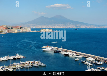 italy campania bay of naples posillipo village of fisherman of the stock photo royalty free. Black Bedroom Furniture Sets. Home Design Ideas