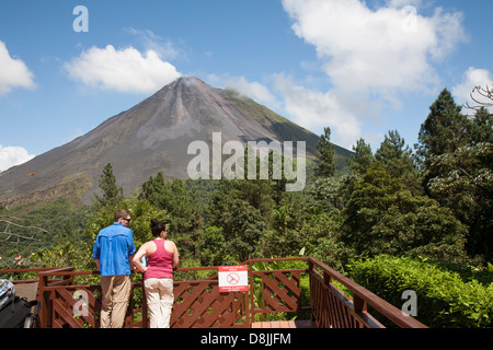 Arenal Observatory Lodge, Arenal Volcano, La Fortuna, Costa Rica - Stockfoto