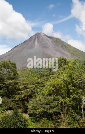 Arenal Volcano, La Fortuna, Costa Rica - Stock Photo