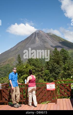 Arenal Observatory Lodge, Arenal Volcano, La Fortuna, Costa Rica - Stock Photo