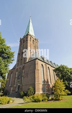 St Gangolf Church - Stock Photo