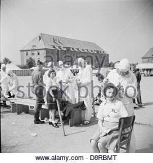 The Liberation of Bergen-belsen Concentration Camp BU9221. - Stock Photo