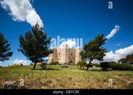 Castel del Monte, Andria, Apulia, Italy - Stock Photo