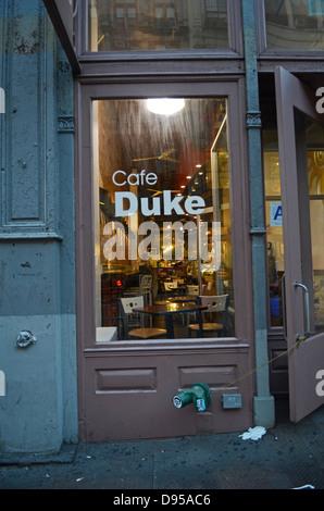 Cafe Duke St Street