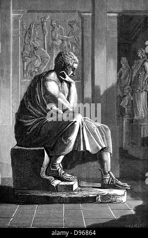 an analysis of aristotle born in 384 bc Aristotle: on poetry by aristotle  poems by aristotle aristotle (384 322 bc) was a greek philosopher and scientist born in the.